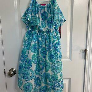 Lilly Pulitzer target print Sea urchin dress